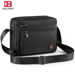 BALANG Brand 2018 Men Business Crossbody Bag for Boys Girls Large Capacity  Unisex Trendy Travel Casual Messenger Bags Male bolsa b0fee12a7a3ad