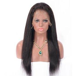 Pizzo vietnamita online-Zhifan all'ingrosso vietnamita capelli diritto serico pieno pizzo parrucche naturali stile dritto capelli per le donne nere