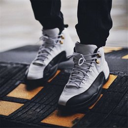 Wholesale Body French - 2018 New XII 12 High OVO Unc French Blue Playoff Flu Gmae Gym Red Women Men Basketball Designer Running Shoes Sneakers