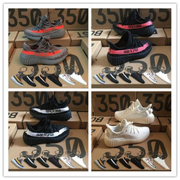 Wholesale Keychains Baby - With Box Keychains Kanye West Baby Kids SPLY 350 Running Shoes Boost V2 Children Athletic Shoes Boys Girls Beluga 2.0 Sneakers