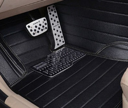 Wholesale bmw floor - Car floor mats for BMW 1 3 5 7 Series GT F10 F11 F15 F20 F25 F30 F34 E60 E70 E90 X1 X3 X4 X5 X6 Audi Q3 Q5 Q7 car-styling liners