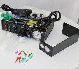 Argentina Alta calidad FT-982 máquinas dispensadoras de líquidos automáticas Dispensadores de pegamento automático dispensadores de resina epoxi DHL envío gratis Suministro