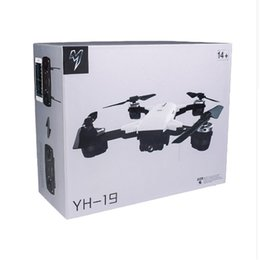 Wholesale mini wide - Hot YH-19HW Mini Foldable RC Drone With Camera HD Wifi FPV Altitude Hold Quadcopter RC Dron VS Visuo XS809HW XS809W RC Helicopter Free shipp