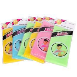 Nylon Maille Bain Corps Douche Laveurs Lavage Exfolier Puff Frotter Serviette Tissu Tissu Visage Nettoyage Outil ? partir de fabricateur