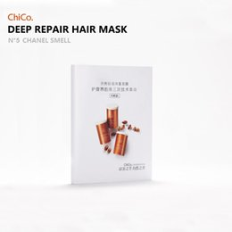 2019 máscara de luxo de penas Máscara CHICO marca 40ml Travel Pack Original de alta qualidade Luz luxo pena Shampoo Condicionador / Hair For Dry E cabelos danificados máscara de luxo de penas barato