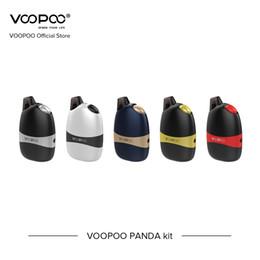 Encomendar cigarros eletrônicos on-line-Pré-Ordem VOOPOO PANDA Kit de 5 ml de Capacidade Com 1100 mah Vape Kit Vaporizador Eletrônico Mini Pod