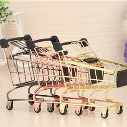 i carrelli della spesa del supermercato Sconti Carrello del supermercato del carrello del carretto del bambino Carrello di immagazzinaggio piegante mini carrello del carrello dei giocattoli per i bambini QW7488 dei ragazzi