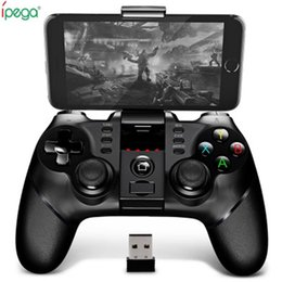 Original Ipega 9076 Sem Fio Bluetooth Gamepad Com Suporte Receptor 2.4G Sem Fio Bluetooth Android ios Game Console Player cheap bluetooth gamepad ios de Fornecedores de bluetooth gamepad ios