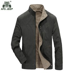 d903f15bb1ed 2019 afs jeep jacken Neues Design Mens Double Side Jacke Männer Outwear  Freizeitjacke AFS JEEP Marke