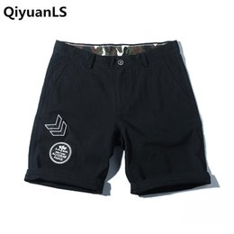 Wholesale Fly Sportswear - QiyuanLS Mens cotton shorts Fitness Bodybuilding Casual workout Brand sporting short pants Sweatpants Sportswear Shorts