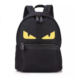 Crianças que viajam bolsas on-line-EYE Monstro mochila de nylon escola mochila de viagem bolsa para laptop para a mamãe e as crianças 3 Cores Frete Grátis