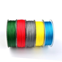 Wholesale strong fishing wire - Lines DONQL 100M Super Strong Braided Wire Fishing Line 6-100LB 0.4-10.0 PE Material Multifilament Carp Fishing For Fish Rope Cord