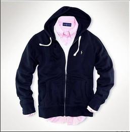 Classique Hommes Loisirs sports Vestes Vestes Ralph Lauren sportswear  luxueux Pony Embroidery manteaux haute qualité manches longues Chemise  couleur unie bed156cd67d