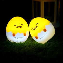 Wholesale Home Baby Bedding - Fashion Cartoon gudetama Lazy Egg Night Lamp Home Novelty Lights For Baby Sleeping Bed Led   Bed Decor Art Lighting