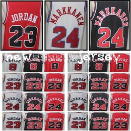 Wholesale m homes - Men's chicago 24 Lauri Markkanen 8 Zach LaVine 2018 New 23 MJ Home Red Jersey bulls Stitched Jerseys Fast Free Shipping