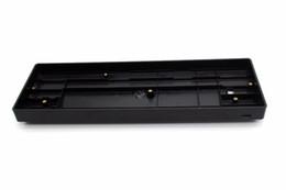 Deutschland Freies Verschiffen fertigte GH60 60% Installationssatz-Plastikfallschalter Universalplatte geführte Stabilisatoren für 60% ISO ANSI mechanische Tastatur an cheap customized keyboard Versorgung