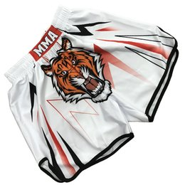 run equipment Promo Codes - 2018 Fashion Men Boxer Shorts Mixed Muay Thai Sports Training Shorts Martial Arts Equipment Women Mens Fitness Gym Running Short
