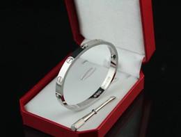 Acero inoxidable 316L estilo plata Rose 18k oro tornillo brazalete brazalete pulsera con destornillador y caja original nunca perder desde fabricantes