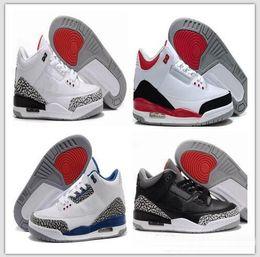 Blanc noir ciment infrarouge 23 loup gris basket chaussures baskets pour  hommes 3 3s Bonne Qualité Version US taille 8-13 Nike Air Jordan Retro  Retros 794a0dc53