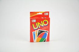 Wholesale Playing Cards Puzzle - hot UNO Playing Poker Cards Table Game Standard Edition Family Fun Entermainment Board Game Kids Funny Puzzle Game in stocks