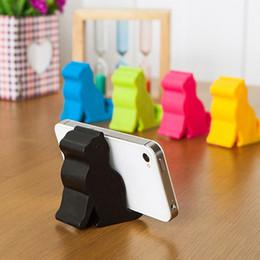 Wholesale universal holder tool - Fashion Phone Mount Universal Phone Stand Cute Mini Cat Shape Phone Tablet Mounts Stand Holder Tool for iPhone