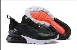 Wholesale Black Plastic Canvas - 2017 Men Women Casual Shoes For Sale Maxes 270 KPU Plastic Cheap Original Training Outdoor High Quality Running Shoes sneakers