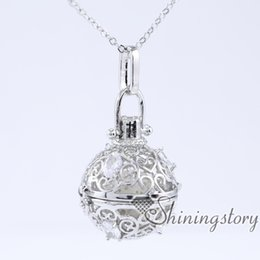 Wholesale Buy Silver Plate - cz cubic zircon heart shaped locket lockets of love buy lockets online stone essential oil diffuser aromatherapy accessories