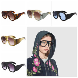 0f631f9b5 Oversize Frame Sunglasses Shield Sun Glasses Eyewear Oversized Round  Sunglasses Contrast Color Party Eye Glasses OOA4674