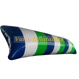 Vente de jeux gonflables en Ligne-6x2m vente chaude eau blob sauter oreiller gonflable jeu d'eau jouet 0.9mm PVC gonflable blobs à vendre livraison gratuite