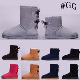 boot blacking factory Coupons - Wholesale factory Australia Classic WGG women high low winter boots chestnut black grey pink designer womens snow boots ankle knee boot