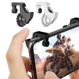 1 paire L1 R1 déclencheur de jeu téléphone intelligent jeux contrôleur de tir contrôleur poignée du bouton de feu pour PUBG pour les règles de survie couteaux out ? partir de fabricateur