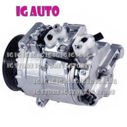 Wholesale mercedes benz brand new - High Quality Brand New In Stock Auto AC Compressor For Car Mercedes Benz 447260-2650 447150-2730 A0012301711