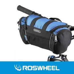2 colores Roswheel Utility Bicycle Bags 5L Bike Handlebar Bag Bicycle Front Tube Pocket Shoulder Pack Equitación Ciclismo Suministros desde fabricantes