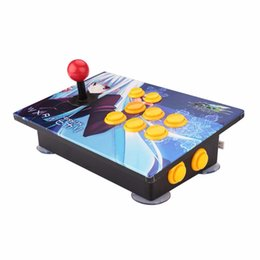 Wholesale Games Choice - Computer game controller PC joystick USB gamepad plug & play for Windows XP WIN7 WIN8 WIN10 with 4 panels for choice