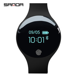 SANDA Smart Watch для IOS Android Bluetooth Мужчины Женщины Интеллектуальное напоминание шагомер Спорт Спорт Браслет Цифровые часы Мужские Y1892508 cheap intelligent woman от Поставщики умная женщина