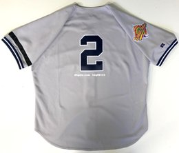 Wholesale Road Number - DEREK JETER 1996 WORLD SERIES NEW YORK ROAD JERSEY Customize any name and number Men Women Youth jerseys XS-5XL