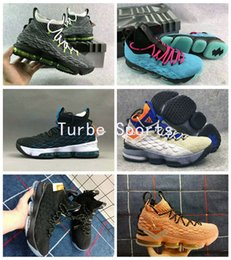 37f6f7106b63 2018 King J 15 ACG Mowabb Collection Griffey Neon South Beach Mens  Basketball Shoes for Men 15s Black Gold All Star Sports Sneaker
