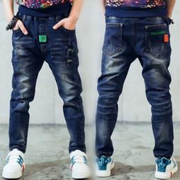 Regalo per bambini, jeans boy per bambini indossano stile alla moda e jeans per bambini di alta qualità, jeans strappati ragazzi, 2 - 14 anni Y18103008 da