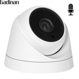 Wholesale Internal Camera - GADINAN Wide Angle 2.8mm lens Internal Built-in Audio IP Camera 1080P SONY IMX322 Dome Video Camera IP DC 12V and 48V POE ONVIF