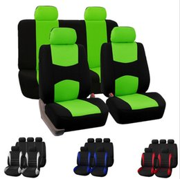 Wondrous Automobiles Seat Covers Full Car Seat Cover Universal Fit Interior Accessories Protector Color Gray Car Styling Cjindustries Chair Design For Home Cjindustriesco