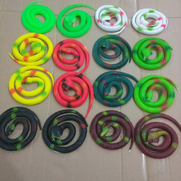 Wholesale Simulation Animal Toys - Novelty Halloween Gift Tricky Funny Spoof Toys Simulation Soft Scary Fake Snake Horror Toy For Party Event