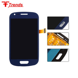 Wholesale Lcd Screen Galaxy S3 Mini - Smart Phone For Samsung Galaxy S3 Mini I8190 I8190N I8195 i8200 Original LCD Display panel Touch Screen Digitizer Assembly Free Shipping