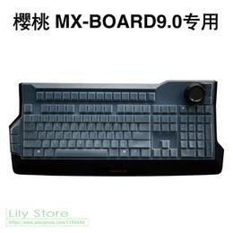 Para CHERRY MX-Board 9.0 G80-3980 LMBEU-2RGB Silicone teclado mecânico sem fio Bluetooth desktop PC Cover Protector pele de