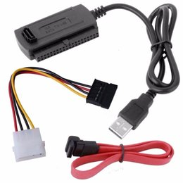 Canada Câble convertisseur adaptateur adaptateur SATA / PATA / IDE vers USB 2.0 pour disque dur 2,5 / 3,5 pouces Offre
