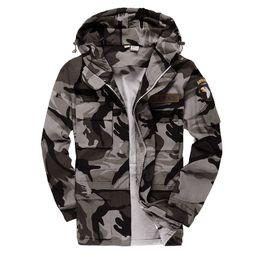 2019 casacos de estilo do exército para homens Homens Estilo Ao Ar Livre Tactical Jackets Para Homens Casaco Piloto do Exército DOS EUA 101 Força Aérea Jaqueta Bomber Coat