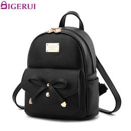 Nuovo zaino sveglio di modo online-DIGERUI Nuove donne Zaino in pelle PU Fashion Backbags borse scuola carino zaino per ragazze adolescenti Packbag A1634