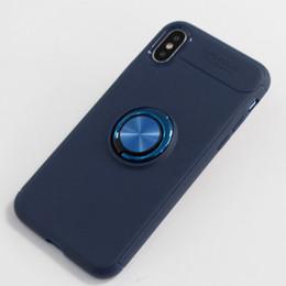 Металлический галактический футляр для телефона онлайн-Для Samsung Galaxy J8 2018 A6 Plus 2018 броня Case TPU металлический кронштейн телефон защитная оболочка автомобиля магнитный D
