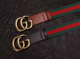 Wholesale mens leather belts sale - 2017Hot Sale! Man leather Famous Designer Belts for men style belt mens luxury Faux leather belts for men 110CM