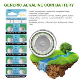 lr44 baterias Desconto 10 pcs alcalina pilha de botão da moeda da bateria AG13 LR44 LR1154 SR44 A76 357A 303 357 para o relógio de equipamentos eletrônicos