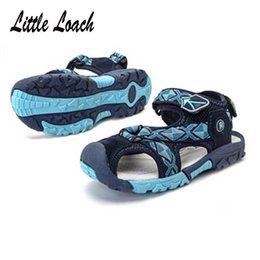 a3f62f167014de tpr sandals boys 2019 - Insole 16-24Cm 6-13 Years Children s Shoes Summer
